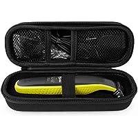 Funda de Protección para el Philips Norelco ONEBlade Hybrid cortacésped eléctrico, qp2520 qp2570 (Negro)
