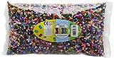 Nabbi - Perlas de plástico para fundir, plástico, Basic Colours, 20000-Piece