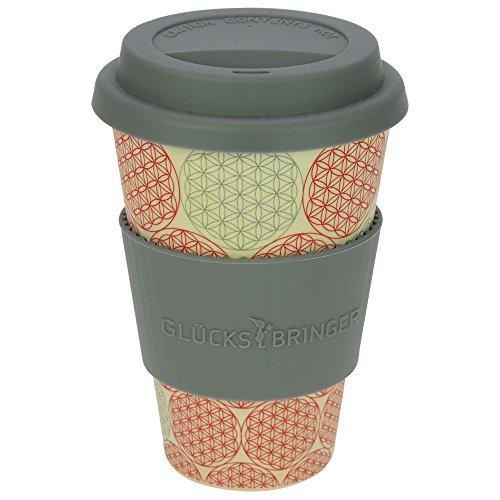 ebos Glücksbringer Coffee-to-Go-Becher aus Bambus | Kaffee-Becher, Trink-Becher | ökologisch...