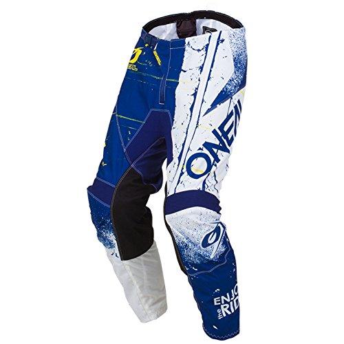 O'Neal Element Shred Kinder Motocross Hose MX Kids All Mountain Bike MTB Downhill Freeride DH FR, 010E-S-Youth, Farbe Blau, Größe 24 -
