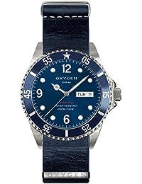 University Sports Press EX-D-ATL-40-NL-NA - Reloj de cuarzo unisex, correa de cuero color azul