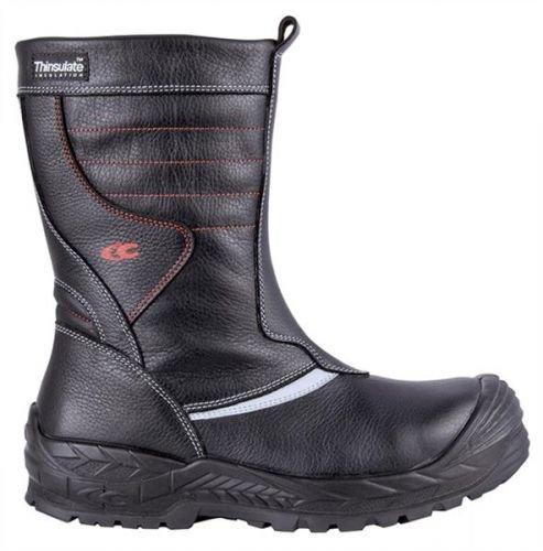 Cofra 13560-000.W39 Herran S3 WR CI HRO Chaussures de sécurité SRC Taille 39 Noir