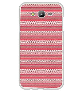 Fuson Pink Tribal Artistic Designer Back Case Cover for Samsung Galaxy On5 (2015) :: Samsung Galaxy On 5 G500Fy (2015) (Ethnic Pattern Patterns Floral Decorative Abstact Love Lovely Beauty)