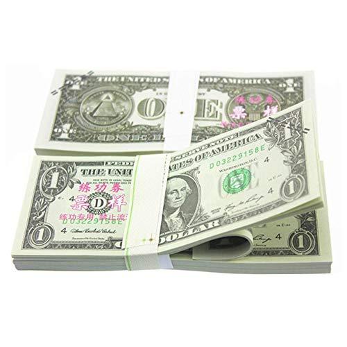 100 STÜCKE American Prop Dollar $ 1-100 Für Filme, Geburtstagsfeier, Spiel