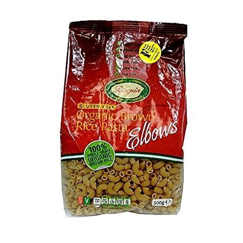 (6 PACK) - Rizopia - Organic Brown Rice Elbows   500g   6 PACK BUNDLE