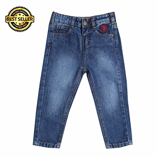 Tales & Stories Baby Boys Plain Slim Fit Jeans