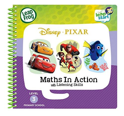 LeapFrog 461903 3D Livre d'activités Pixar Pals Jouet, Multi, Taille Unique