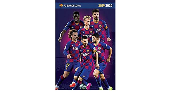 Poster Official Licensed F.C Barcelona Players #19