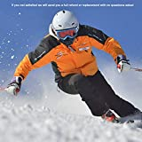 AstroAI Sturmhaube, Balaclava Sturmmaske Winter Skimaske Motorradmaske Fahrrad Herren Damen Polar Fleece Weiche Thermische Gewebe Atmungsaktive Winddicht Thermal Universalgröße (Schwarz)