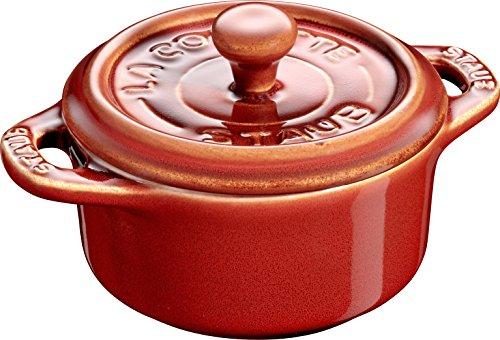 Staub Mini Cocotte redondo 10cm cobre antiguo