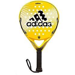 adidas P5 - Pala pádel unisex, color amarillo / negro / blanco, talla única