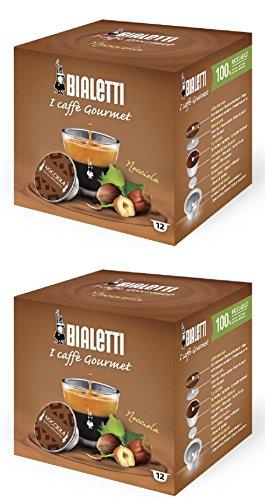 Bialetti capsule caffè, Nocciola, 24count
