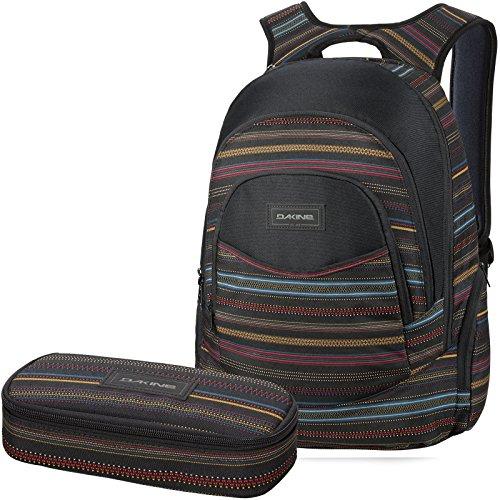 DAKINE 2er SET Laptop Rucksack Sport Schulrucksack Freizeitrucksack PROM + SCHOOL CASE Mäppchen Nevada
