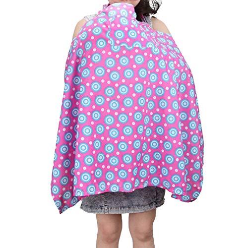 Nursing Cover de Couverture d'allaitement écharpe,Cape d'allaitement,Poncho d'allaitement - Confortable et Allaiter Bébé 100cm*67.5cm