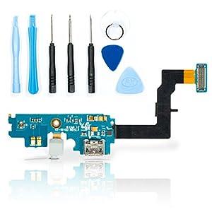 teparto USB Connector Ladebuchse für Samsung Galaxy S2 i9100 / i9100G / i9105 mit Werkzeugset