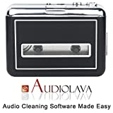 from Rybozen Portable Cassette Player Walkman & Cassette to MP3 Converter, Convert Cassette Tapes to MP3 & CD With New Convenient Software (AudioLAVA)