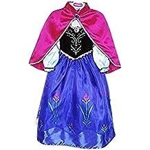 Live it estilo it vestido de princesa de disfraz de cosplay disfraz princesa de hielo fiesta Ana Elsa Inspirada