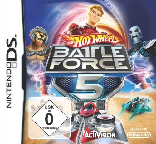 Hot Wheels: Battle Force Five (Dsi-auto-spiele)
