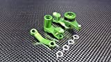 Traxxas Slash 4X4 / Stampede 4X4 VXL / Deegan 38 Fiesta ST Rally Tuning Teile Aluminium Steering Assembly With Bearings - 1Set Green