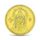 CaratLane 1 grams 24K Yellow Gold Lord B...