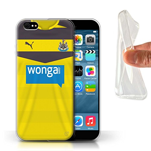 Offiziell Newcastle United FC Hülle / Gel TPU Case für Apple iPhone 6S / Pack 29pcs Muster / NUFC Trikot Home 15/16 Kollektion Torwart