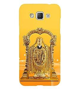 Golden Venkateswara 3D Hard Polycarbonate Designer Back Case Cover for Samsung Galaxy Grand Max G720