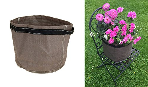 Faltbarer Blumentopf Balkon Pflanztopf Pflanzentopf Pflanzsack Pflanzensack aus Kunstsoff faltbar