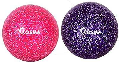 Kosma – Set de 2 PC bola de Hockey con brillantina