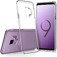 Spigen [Liquid Crystal] Samsung Galaxy S9 Hülle (592CS22826) Transparent Silikon Handyhülle Passgenau Kratzfest Durchsichtige Schutzhülle Case (Crystal Clear)