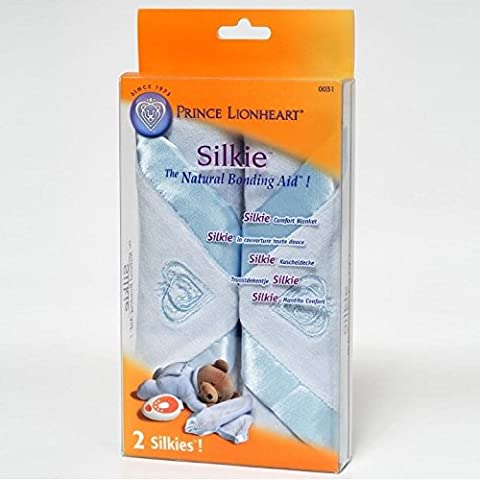Prince Lionheart Silkie 2 Pack - Blue