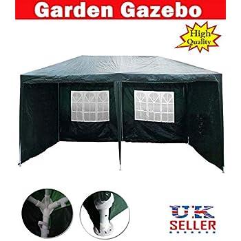 3M Garden Gazebo Marquee Party Wedding Tent Portable Carport Shelter Car Canopy