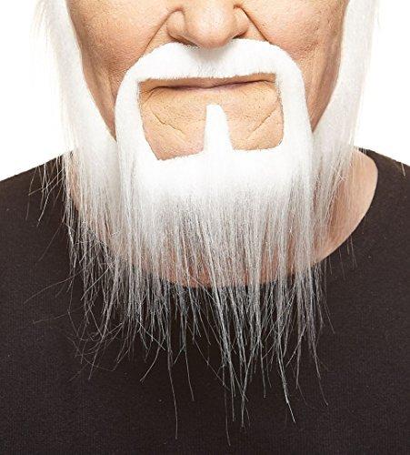 ßer Siedlerr fälschen, selbstklebend Bart ()