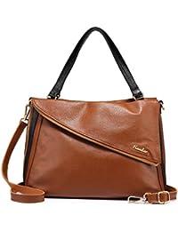 Large Tote Bag For Women Genuine Leather Designer Ladies Handbags Purses Shoulder Bags By Realer - B0756F54H6