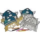 13 tlg. Set Papier Maske - Wickie und die starken Männer - Geburtstag Kindergeburtstag Pappmasken Masken