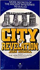 Image result for picture of Book cover of John Michell's City of Revelation