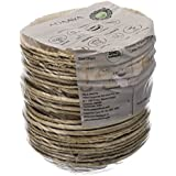 Adaaya Farms - Simply Urbane Natural Palm Leaf Small Round Bowls - 3.6 Inches - Pack Of 25 - Suitable For Parties And Events - Eco Friendly/Bio Degradable/Compostable