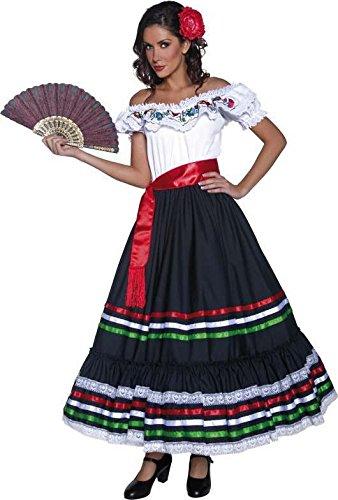 Smiffys Spanisches Tanz-Kostüm für Damen M