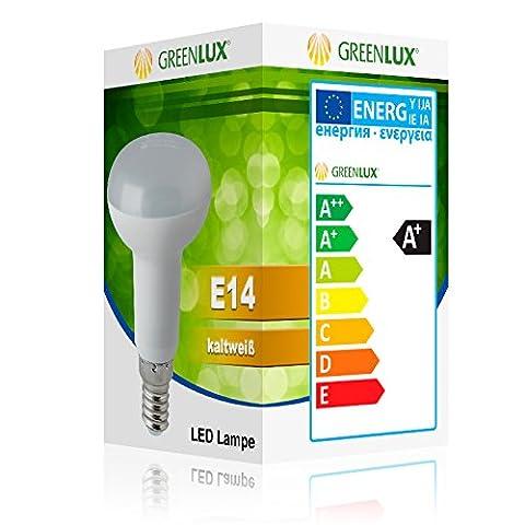 5W E14 R50 LED Reflektorlampe Leuchtmittel Kaltweiss LED Lampe Birne Greenlux