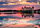 Sachsens Schlösser (Wandkalender 2019 DIN A4 quer): Schlösser und Burgen in Sachsen (Monatskalender, 14 Seiten ) (CALVENDO Orte)