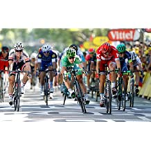 Tour de France 2018 (Map with all stages) (English Edition)