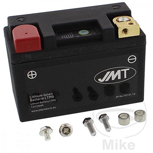 Batterie Motorrad LTM9 JMT Lithium-Ionen mit Anzeige Wasserdicht