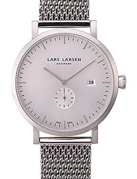 Lars Larsen Herren-Armbanduhr Sebastian Analog Quarz Edelstahl 131SWSM