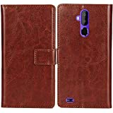 Lankashi PU Flip Leather Case For TP-Link Neffos X9 5.99