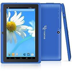 Yuntab Q88 7 pollici Allwinner A33,1,5 Ghz Quad Core Google Android Tablet PC, 512 MB + 8 G, doppia fotocamera, WiFi, Bluetooth (Blu)