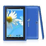 Yuntab Q88H - 7 Zoll Tablet PC,Android 4.4, Quad Core, HD 1024x600, Dual-Kamera, Bluetooth, Wi-Fi, 8GB, 3D Spiel Unterstützte Blau