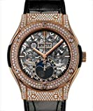 Hublot Classic Fusion Aerofusion Moonphase King Gold Pave 45mm 517.OX.0180.LR.1704