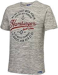 "HERREN T- SHIRT ""Anker"" Gr. S-4XL HAMBURGER SV HSV"