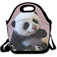Preisvergleich für Leicht Lunchtasche Cute Panda 3D Tier Prints Picknick Isolierte Lunch Tote Isolierte Lunch Box Food Container Lunch Tasche für Frauen