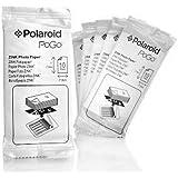 Polaroid Zink Media - Papel fotográfico para impresoras Polaroid Pogo Printers y Polaroid Two Instant Camera (10 paquetes de 10, 100 impresiones)
