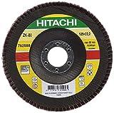 Best Fogli di vendita - Hitachi-Disco 752588-Fogli abrasivi 125 x 22,2 mm, grana Review